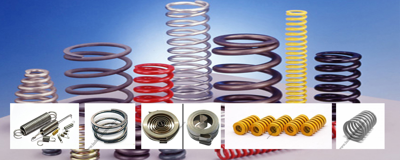 Spring manufacturers in India - Industrial Spring manufacturers
